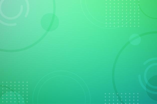 Gradiente de tonos verdes de fondo