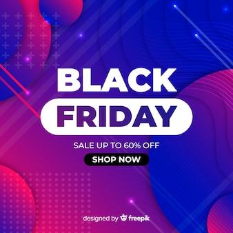 Gradiente de ventas de viernes negro de memphis