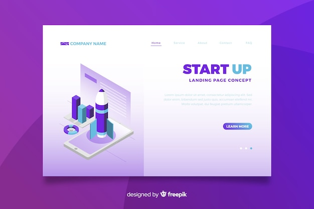 Gradiente violeta inicio página de inicio