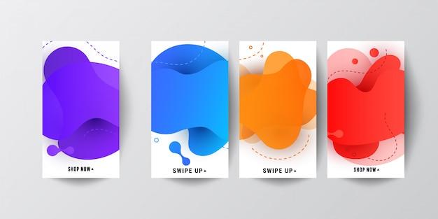 Gradientes de color de pantalla modernos