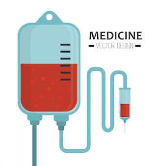 Gráfico sanitario médico