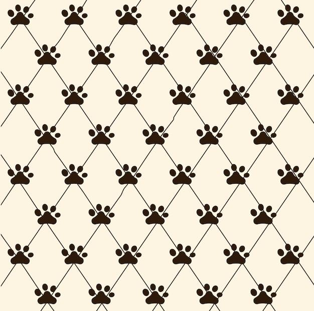 Gráfico de tienda de mascotas de animales