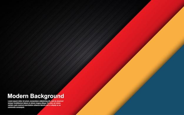 Gráfico de vector de ilustración de color de gradientes de fondo abstracto negro y hipster