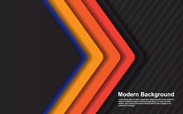 Gráfico de vector de ilustración de fondo abstracto gradientes hipster color