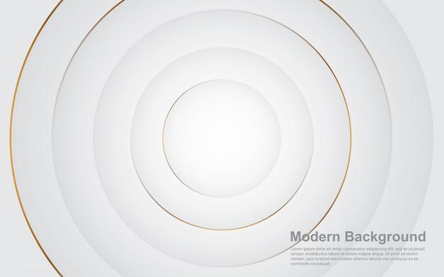 Gráfico vectorial de ilustración de fondo abstracto color plata claro moderno