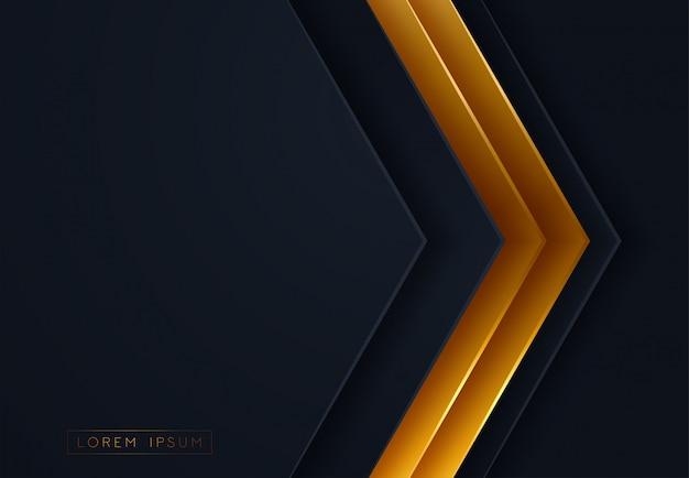 Gráficos abstractos de papel 3d