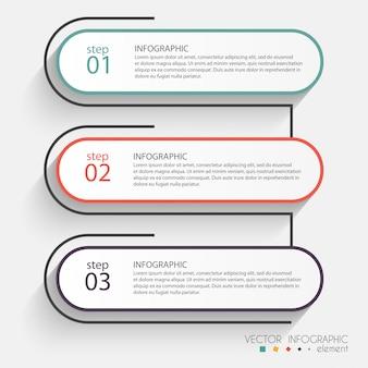 Gráficos coloridos de información