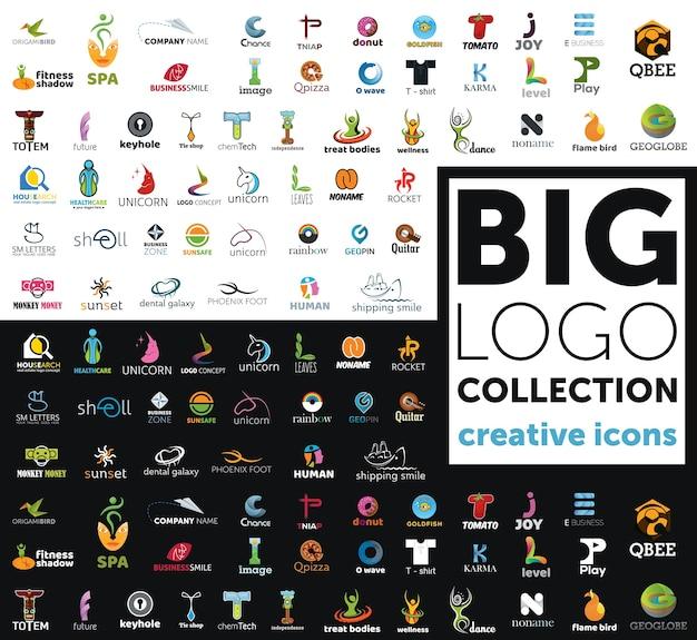 Gran colección de logotipos