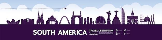 Gran destino turístico de américa del sur