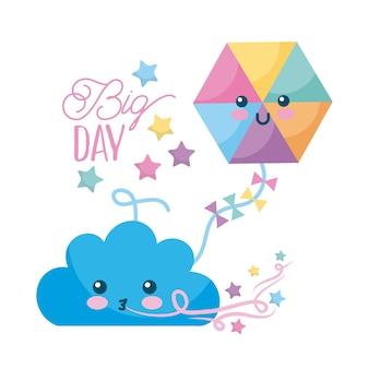 Gran día de dibujos animados