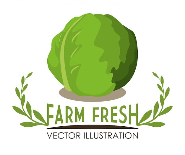 Granja de diseño fresco
