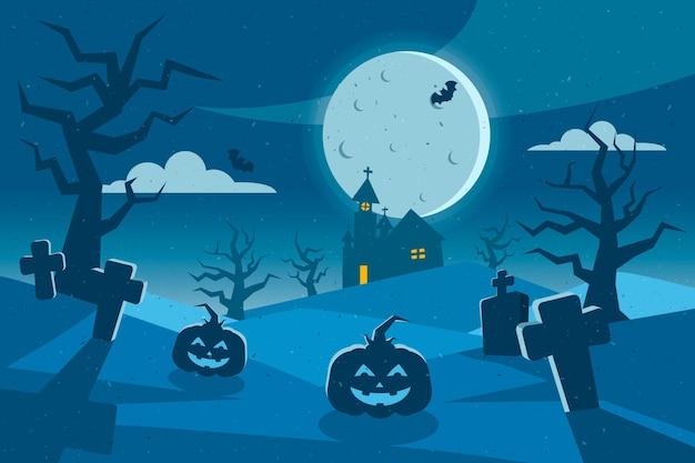 Grunge fondo de pantalla de halloween