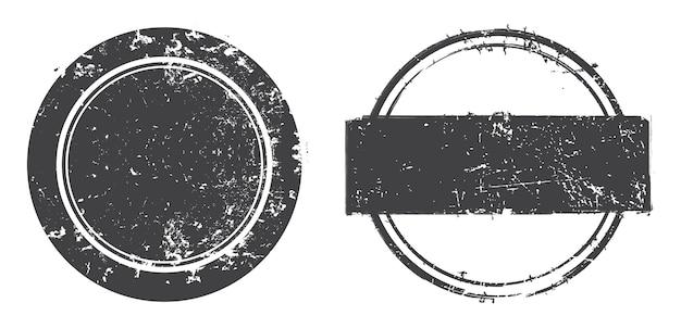 Grunge sellos en dificultades