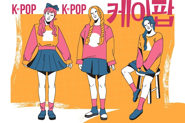 Grupo de chicas k-pop