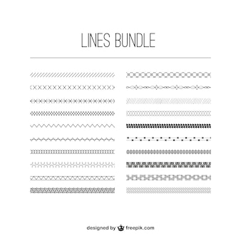 Grupo de líneas