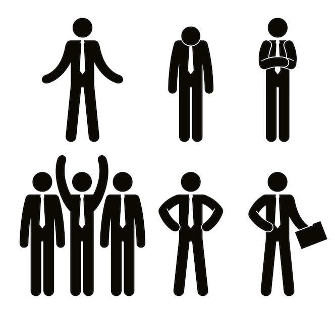 Grupo de personas de negocios trabajo en equipo vector ilustración diseño