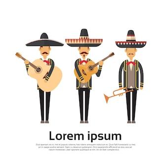 Grupo de hombres mexicanos