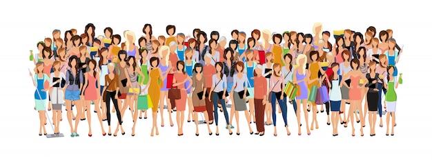 Grupo de mujer