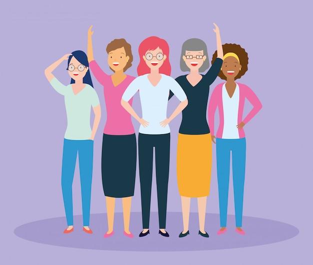Grupo de mujeres