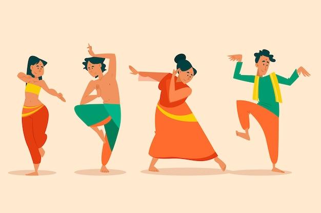 Grupo de personas bailando bollywood