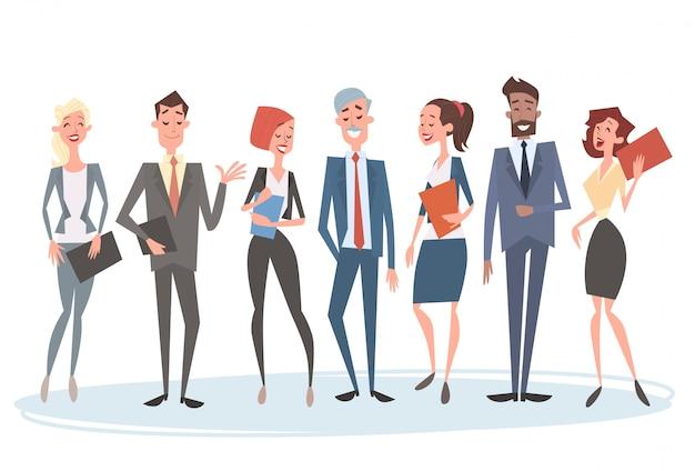 Grupo de personas de negocios equipo recursos humanos compañeros