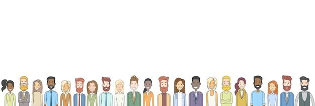 Grupo de personas ocasionales