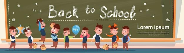 Grupo de regreso a la escuela