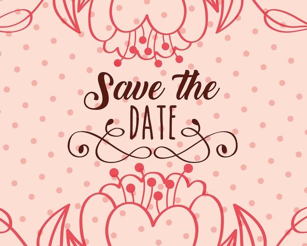 Guardar la fecha de la boda