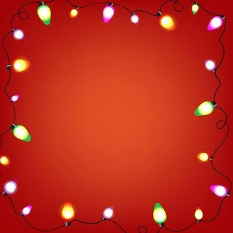 Guirnalda de bulbos de colores