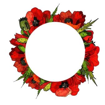 Guirnalda decorativa de lirio tarjeta de felicitación linda invitación de boda cumpleaños pascua espacio de copia