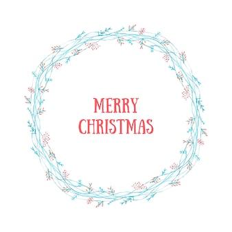 Guirnalda feliz navidad