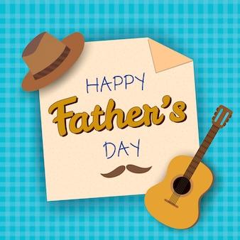 Guitarra del dia del padre