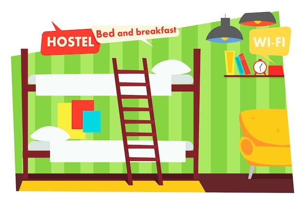 Habitacion en albergue