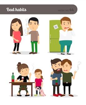 Hábitos viciosos