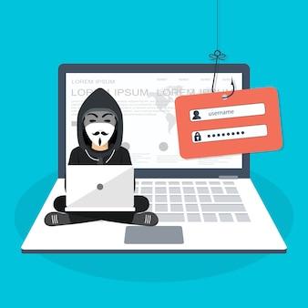 Hackear el ataque de phishing