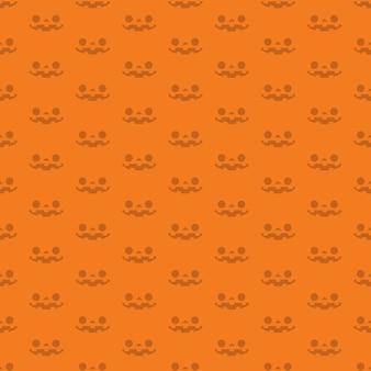 Halloween jack o linterna calabaza caras de patrones sin fisuras.