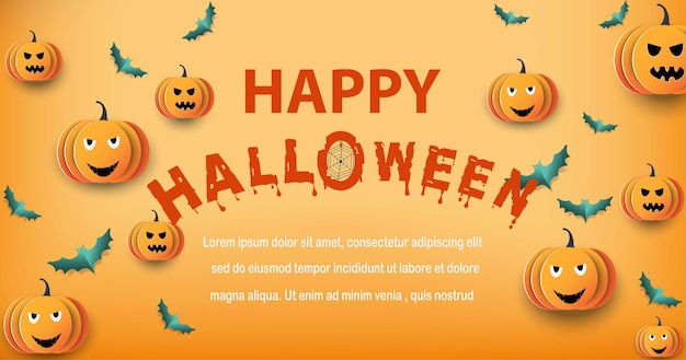 Halloween y luna llena en la noche oscura, castillo oscuro sobre fondo de luna llena, fantasmas y murciélagos voladores