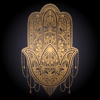 Hamsa talismán religión asiática