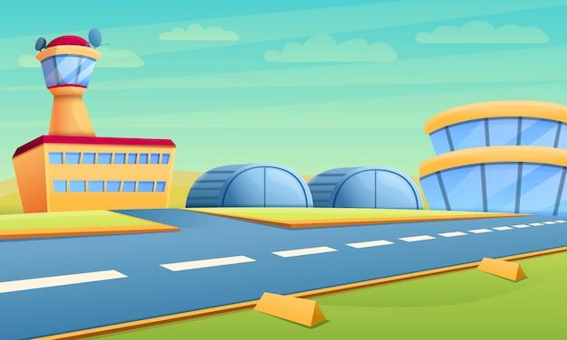 Hangar del aeropuerto