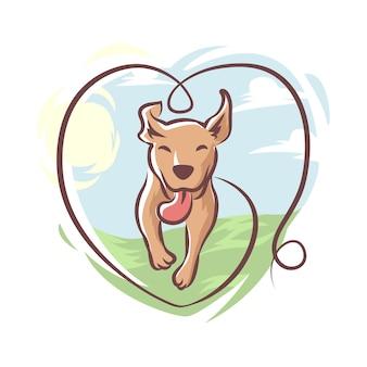 Happy dog logotipo