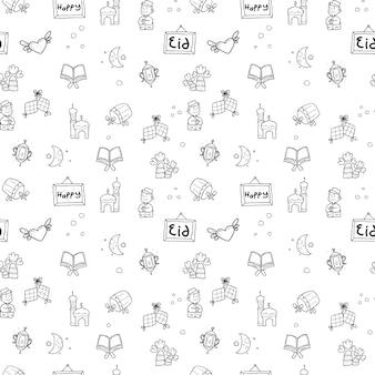 Happy eid pattern