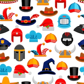 Headwear de patrones sin fisuras