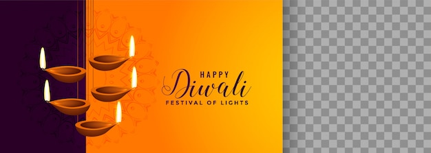 Hermosa lámpara colgante diya para el festival de diwali