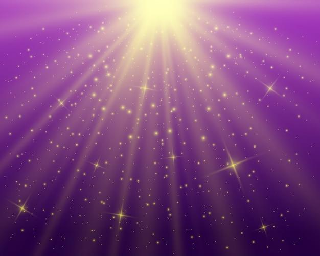 Hermosa luz blanca explota con una explosión transparente. vector, ilustración brillante para un efecto perfecto con destellos. lucero. brillo transparente del gradiente de brillo, destello brillante.
