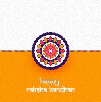 Hermosa rakhi decorada