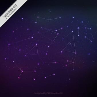 Hermosas constelaciones de fondo