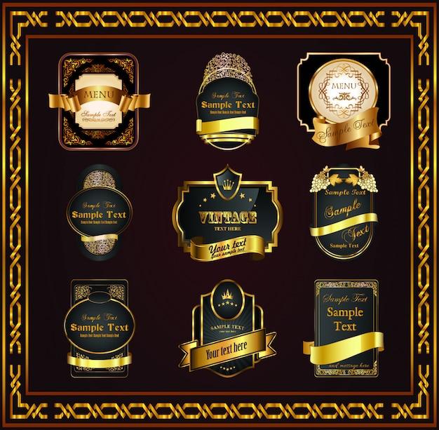 Hermoso certificado de marco bonito para tu diseñador