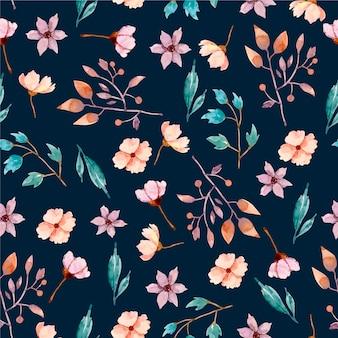 Hermoso diseño floral de fondo