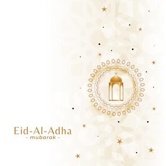 Hermoso festival de eid al adha.