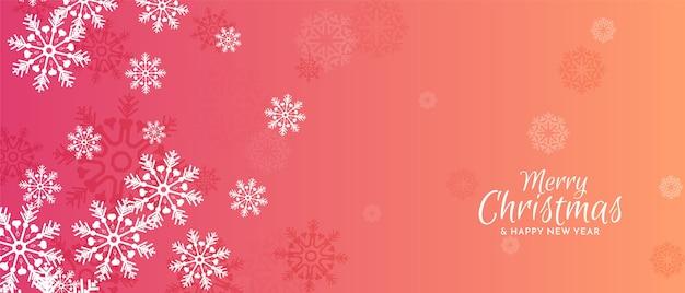 Hermoso festival de feliz navidad decorativo